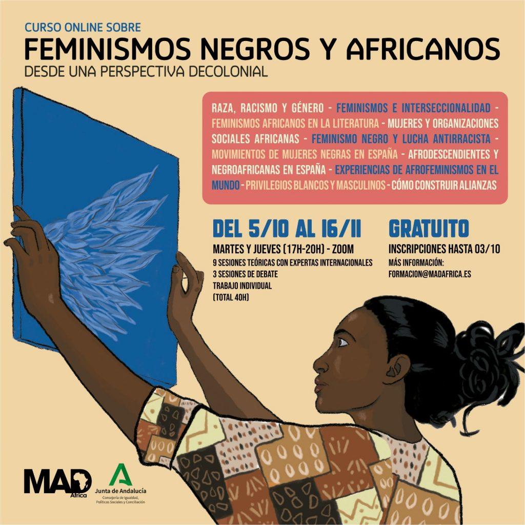 Curso sobre Feminismos Negros y Africanos desde una perspectiva decolonial